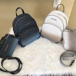 Michael Kors Backpack & camera bag set